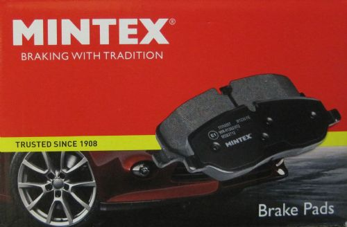 MINTEX STANDARD BRAKE PADS - FC model